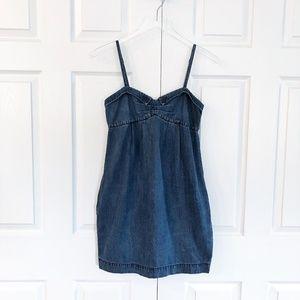A X Armani Exchange Denim Mini Dress
